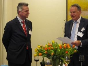 Hans Hoegen Dijkhof en Machiel de Vries