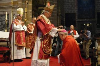 De bisschopswijding van bisschop Coelho